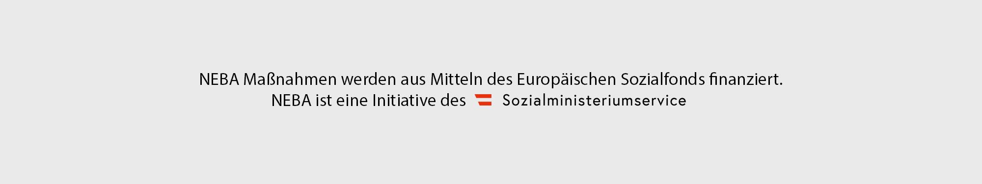 Logos: Land Niederösterreich, Sozial Ministerium Service